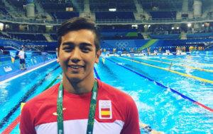 Miguelo Ortiz-Cañavete en los Juegos Olímpicos de Río.