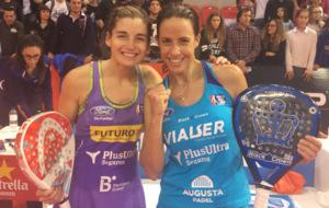 Alejandra Salazar y Marta Marrero