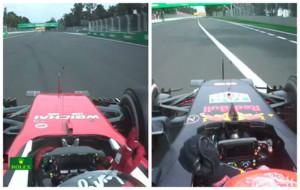 Cruce de acusaciones entre Vettel y Verstappen