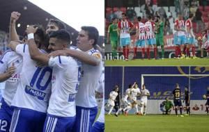 De la alegría del nuevo Zaragoza de Agné y de Güiza... al gol del...