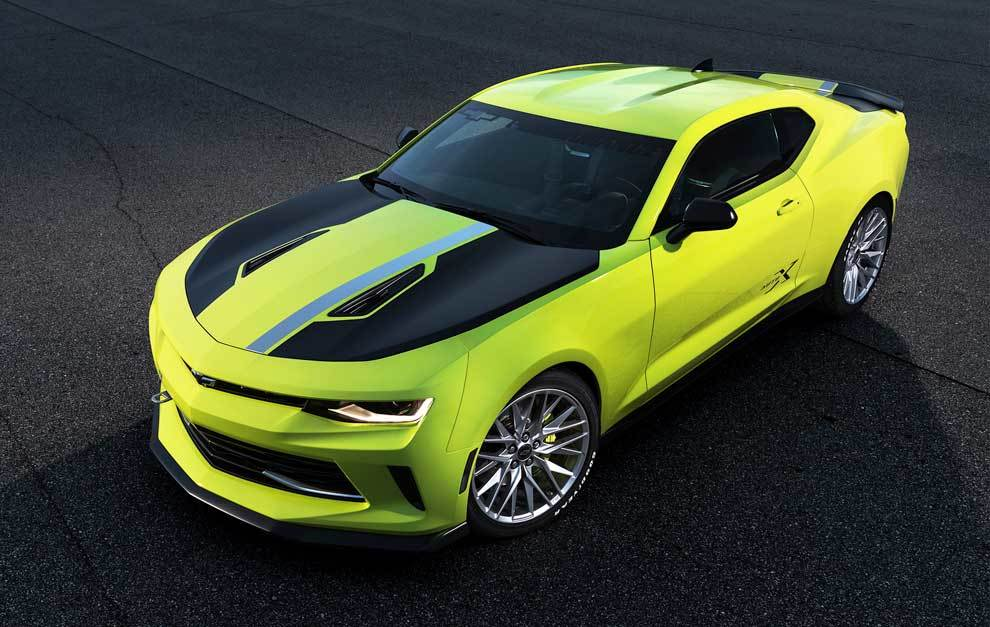 Chevrolet Camaro Turbo Auto X, el americano más salvaje ...