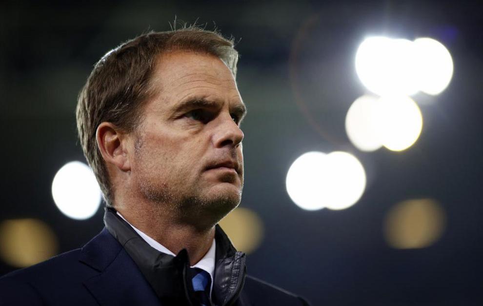 De Boer, durante el Sampdoria-Inter.