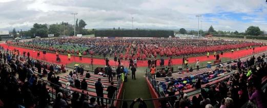 El haka más multitudinaria de la historia reunió 7.000 personas