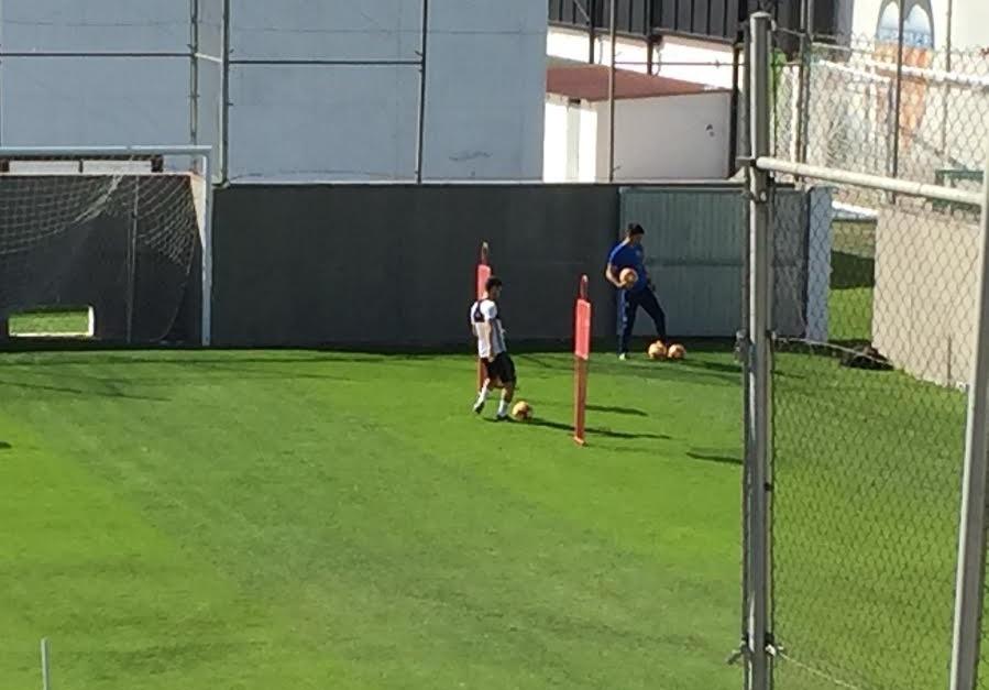 Gayá ya toca balón y apunta a Vigo