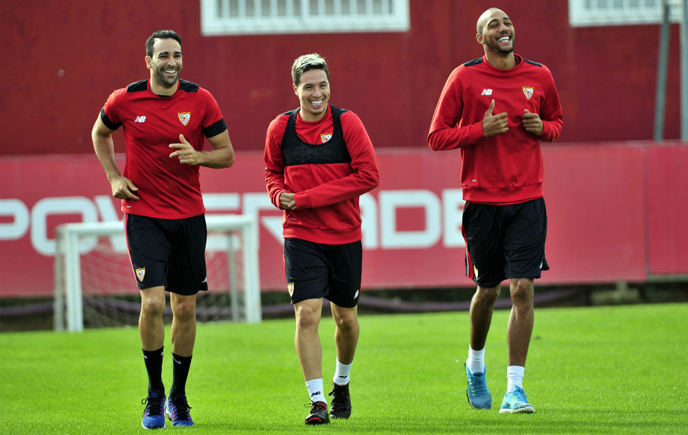 Nasri mejora y cuenta con opciones de jugar el domingo contra el Barça
