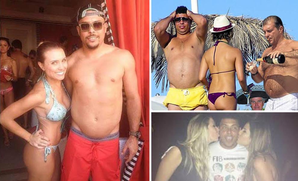 Ronaldo: La fiesta y los carnavales brasileños tiraban demasiado de...
