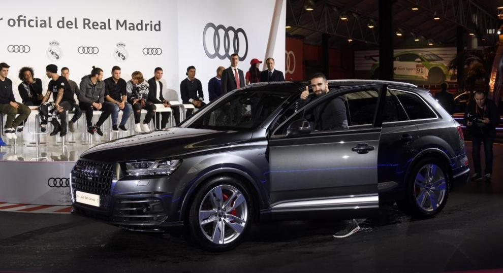 Daniel Carvajal Audi Sq7 4 0 Tdi 435 Cv Marca English