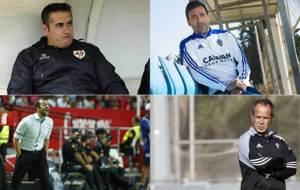 Sandoval, Agné, Diego Martínez y Cervera, técnicos de Rayo,...