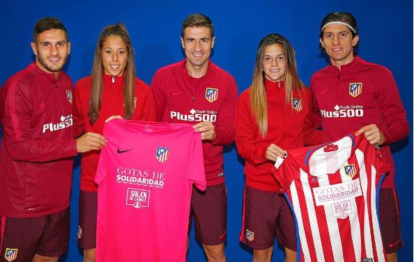 Fútbol Femenino  El Atlético de Madrid se une a la campaña de ... 8d1a7951a9971