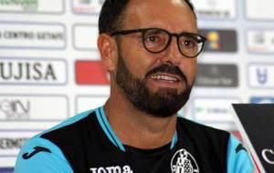 Un sonriente José Bordalás, durante una anterior rueda de prensa