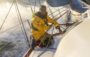 Didac Costa, a bordo del One Planet, One Ocean.