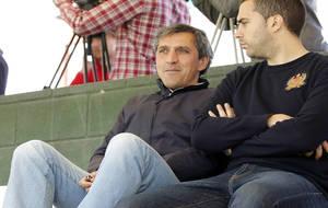 Pepe Murcia, durante un partido.