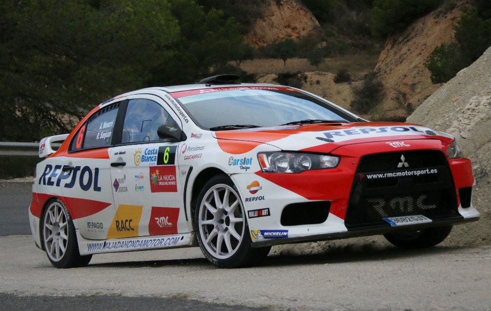 Alberto Monarri, vencedor Rallye La Nucía-Mediterráneo con suspense