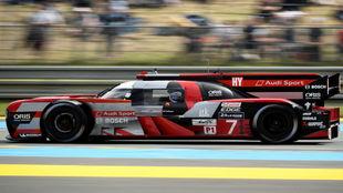 El prototipo de Audi durante las 24 horas de Le Mans.