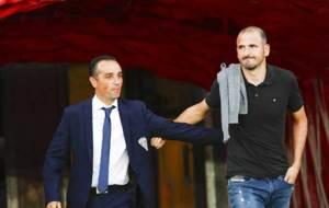 José Luis Oltra y Fernando Soriano, antes del derbi andaluz