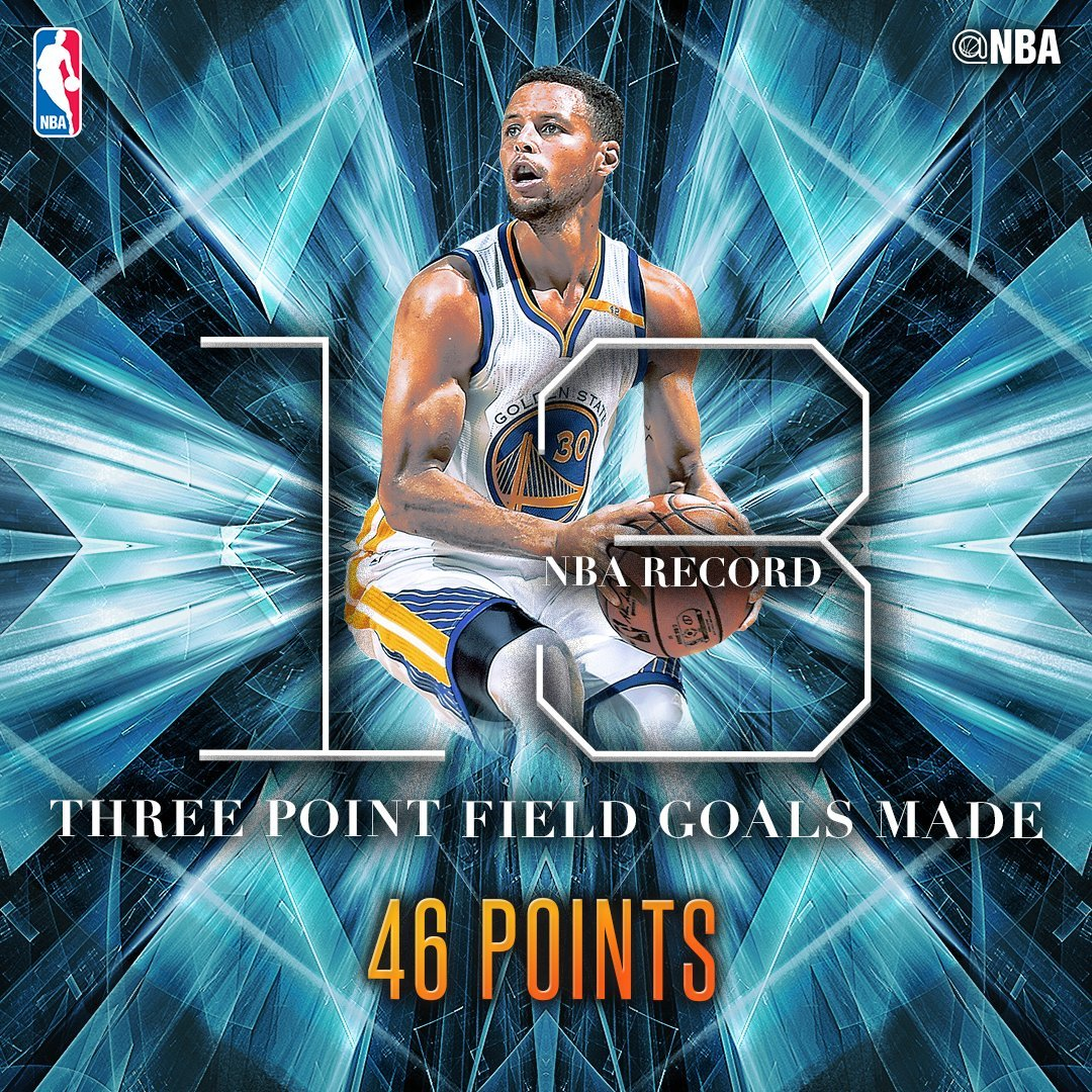 promo code 7aa1d 4c617 13 triples de Curry: 1, 2, 3... ¡hasta 13!: así metió sus 12 ...
