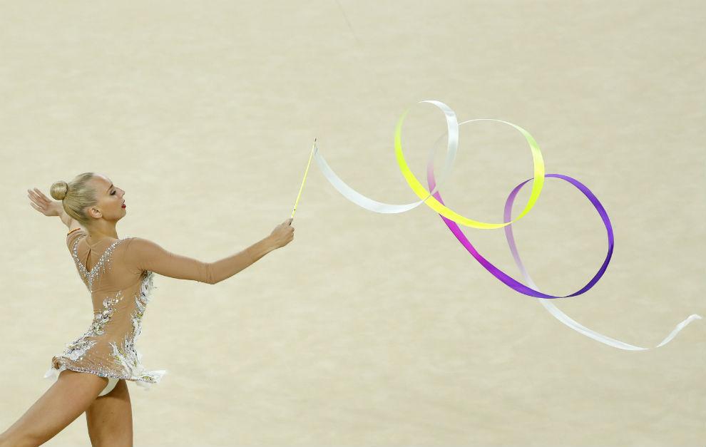 La rusa Yana Kudryavsteva, actual campeona de Europa y del Mundo.