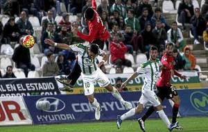 Imagen del partido entre Córdoba y Mallorca del pasado mes de enero...