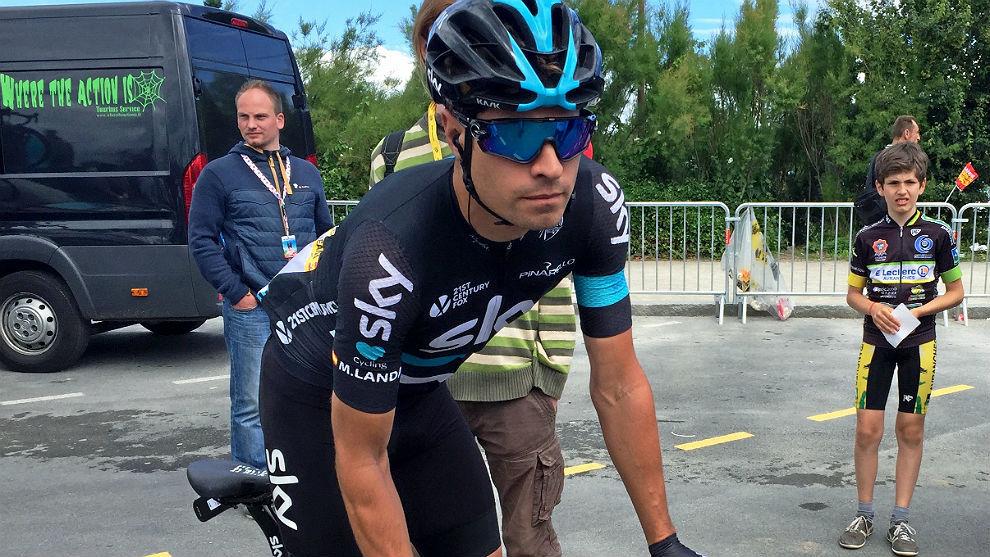 Mikel Landa, el pasado julio en el Tour de Francia.