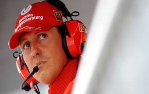 Michael Schumacher, en una imagen de archivo de septiembre de 2008.