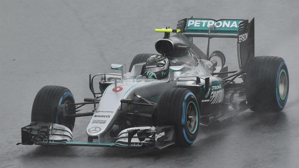 Nico Rosberg, segundo clasificado del GP de Brasil
