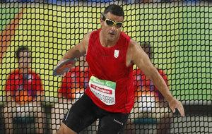 David Casinos en los Juegos Paralímpicos de Río