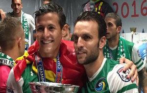 Ayoze y Bover posan con el título logrado en la NASL.
