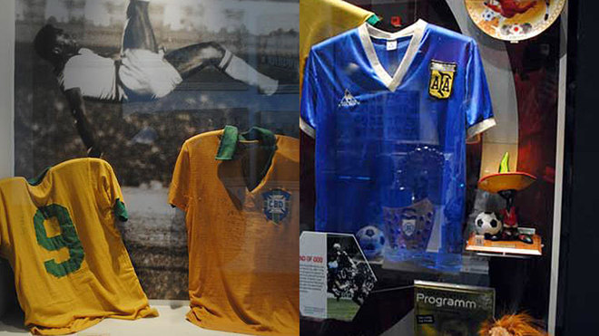 Dónde están las camisetas más importantes de la historia del fútbol ... 76f6e3ee8e4bd