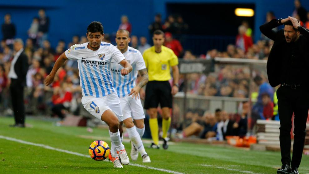 El uruguayo 'Chory' Castro se lesiona y es duda para Barcelona