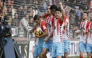 Partido de Segunda División contra el Rayo.