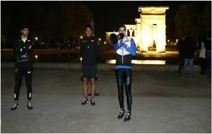 Bruno Hortelano aconseja a los 'runners' en Madrid