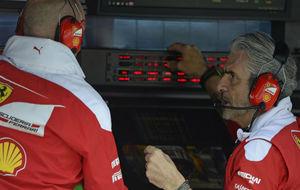 Maurizio Arrivabene, en el Gran Premio de Brasil