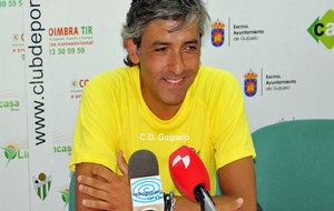 Mateo García, en una rueda de prensa
