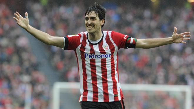 Iraola durante su etapa en el Athletic de Bilbao.