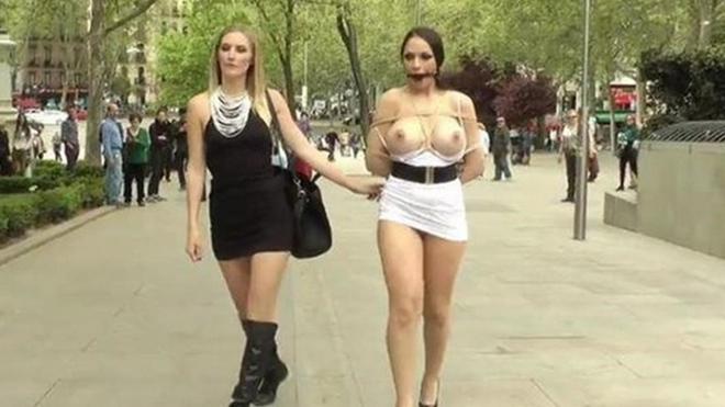 Calles Porno en las