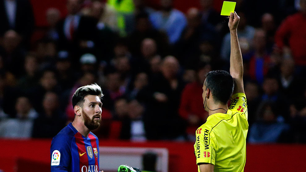 cf2be6ea2 Barcelona make second appeal over Messi yellow card