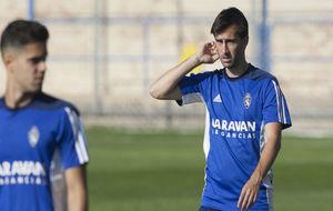 Manu Lanzarote durante un entrenamiento.