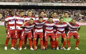El Granada en Mestalla en la temporada 2011/12