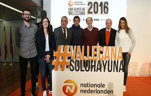 Momento de la presentación de la San Silvestre Vallecana