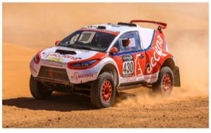 El ACCIONA 100% EcoPowered participa en el Dakar 2016.