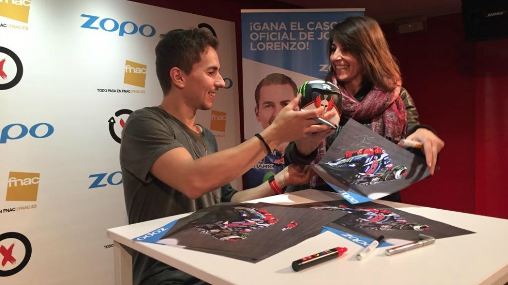 Lorenzo, en Madrid.