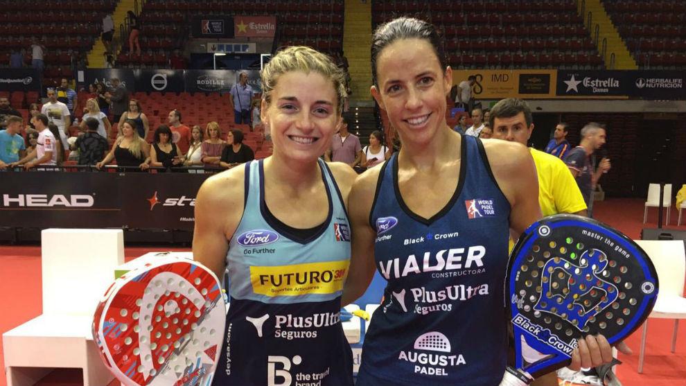 Alejandra Salazar y Marta Marrero.