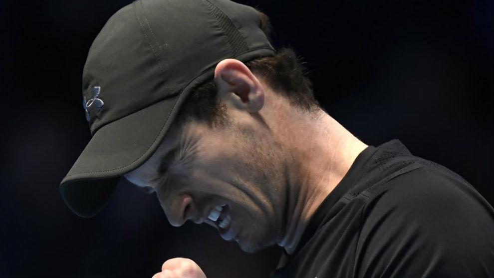 Murray, con cara de sufrimiento