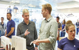 Tim Cook, diretor ejecutivo de Apple.