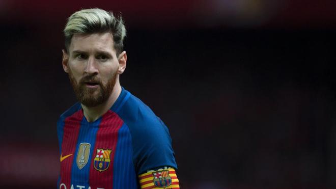 Messi, en un partido con el Barça esta temporada.