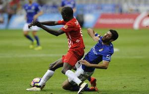 Pape Diamanka durante un partido de esta temporada.