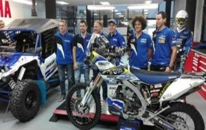 Los equipos de Yamaha España.