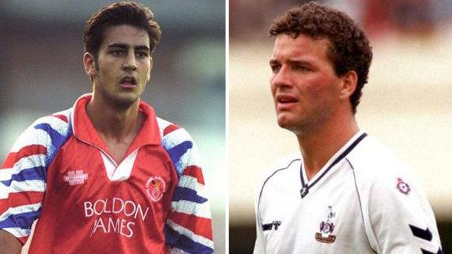 Andy Woodward y Paul Steward, en su época de jugador
