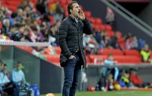 Rubén Baraja (41) durante un partido.