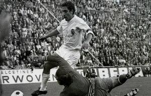 Claramunt, durante su etapa como jugador del Valencia.